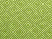 Baumwolle Squares, hellgrün