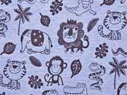 Jersey Zootiere, jeansblau
