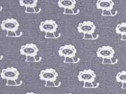BW Tiny Creatures by Poppy, grau