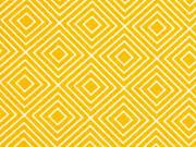 Baumwolle Squares, gelb