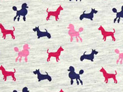 Jersey Dog Parade Hunde hellgrau meliert