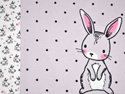 Jersey Bunny Love Panel 3 in 1, grau
