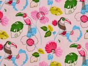 Jersey Tukan & Blumen, rosa