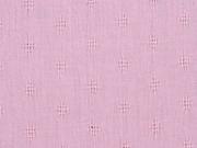 Baumwolle Ajourmuster, rosa