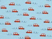 Jersey Little Cars, hellblau