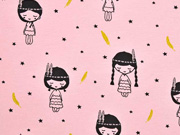 Jersey Indianer Mädchen, rosa