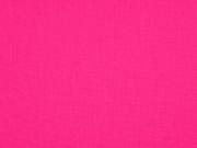 Baumwolle uni, hot pink