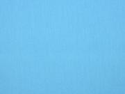 Baumwolle uni, sky blue