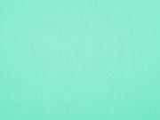 Baumwollstoff uni, mint grün