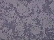 Softshell Stoff 3-schichtig Blätter, grau