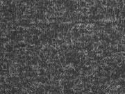 weicher haariger Strick, schwarz