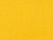 RESTSTÜCK 47 cm Canvas Stoff uni, gelb