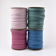Flache Kordel Hoodiekordel Kapuzenband 15 mm, pink