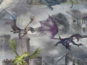 RESTSTÜCK 78 cm Jersey Digitaldruck Dark Knights