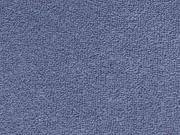 RESTSTÜCK 79cm Sweat Frottee, jeansblau