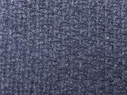 leichter Strick mit mini Pailletten rauchblau