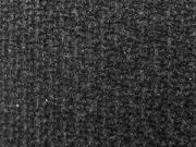 RESTSTÜCK 132cm leichter Strick mit mini Pailletten dunkelgrau