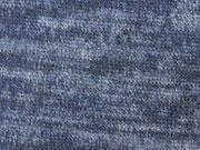 Melierter Strickstoff, dunkelblau