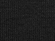 RESTSTÜCK 42 cm Strickstoff, schwarz