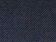 RESTSTÜCK 30 cm Jeansjerseystoff Denim ähnlich-dunkelblau