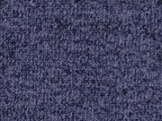 RESTSTÜCK 47 cm melierter Strick, dunkelblau