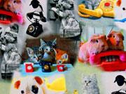 Jersey Digitaldruck Telefone & Tiere