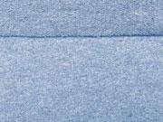 RESTSTÜCK 71 cm festerer French Terry, jeansblau
