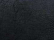 Vintage Lederimitat geprägte Optik, schwarz