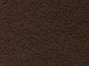 RESTSTÜCK 20 cm Lambskin Fleece uni dunkelbraun
