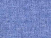 RESTSTÜCK 49 cm weicher Chambray, jeansblau