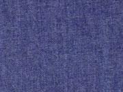 leichter Jeansstoff Chambray, dunkelblau