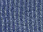 RESTSTÜCK 31 cm Chambray Jeans Look Streifen, dunkelblau