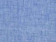 Leinen, jeansblau