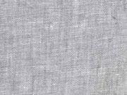 RESTSTÜCK 63 cm Leinen, hellgrau melange