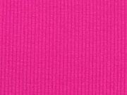 Viskosejersey uni gerippt, pink