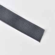 Falzband elastisch matt 20 mm, dunkelgrau