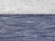 RESTSTÜCK 36 cm angerauter Sweat Melange - dunkelblau