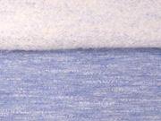angerauter Sweat Melange -helles jeansblau
