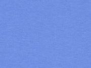 glattes Bündchen - bleu (kräftiges hellblau)
