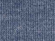 Doubleface Velour/Strick, dunkles jeansblau melange