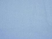 RESTSTÜCK 33 cm elastischer Baumwolltwill, rauchblau