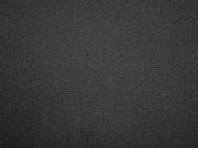 RESTSTÜCK 46 cm elastischer Baumwolltwill, schwarz