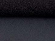 RESTSTÜCK 51 cm Jackenstoff Softshell, schwarz dunkelgrau