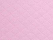 gesteppter Jersey Rauten, rosa