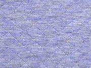 gesteppter Jersey Rauten, jeansblau melange