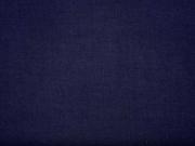 luftige Viskose Uni - marine blau