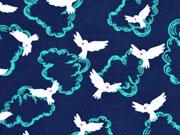 Jersey Doves Tauben, dunkelblau