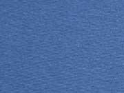 glattes Bündchen, indigoblau
