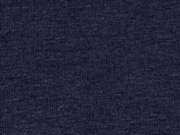 Jersey uni, dunkelblau