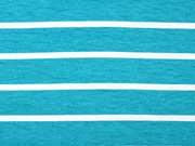 RESTSTÜCK 45 cm Viskose Jersey Streifen 1,8 cm / 0,5 cm, aquamarin